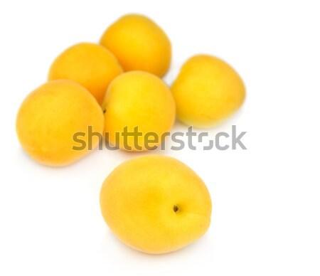 新鮮な 孤立した 白 果物 甘い ストックフォト © mobi68