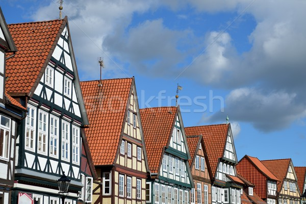 Half-timbered houses Stock photo © mobi68