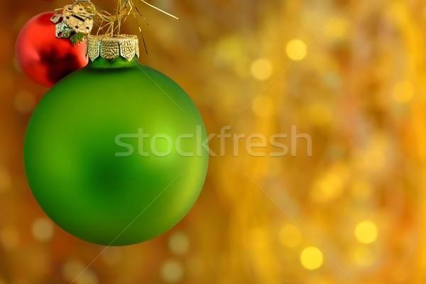 Navidad dos libre espacio fondo Foto stock © mobi68