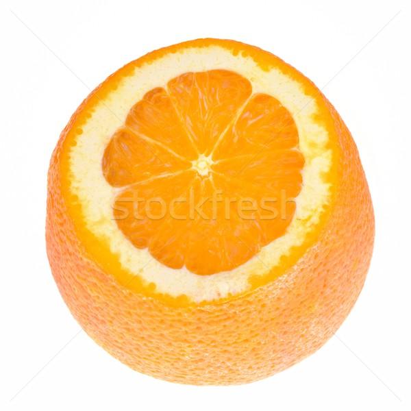 Naranja superior vista alimentos frutas Foto stock © mobi68