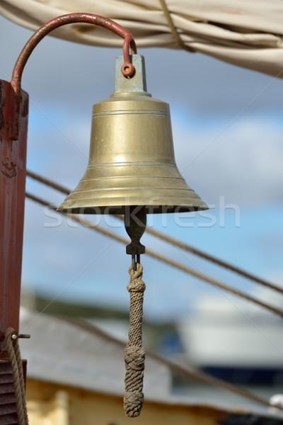 Buques campana barco buque lienzo Foto stock © mobi68