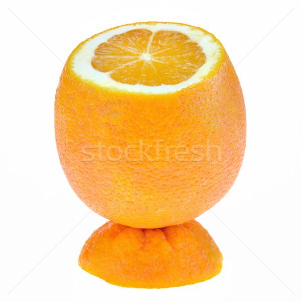 Naranja pie superior alimentos frutas Foto stock © mobi68