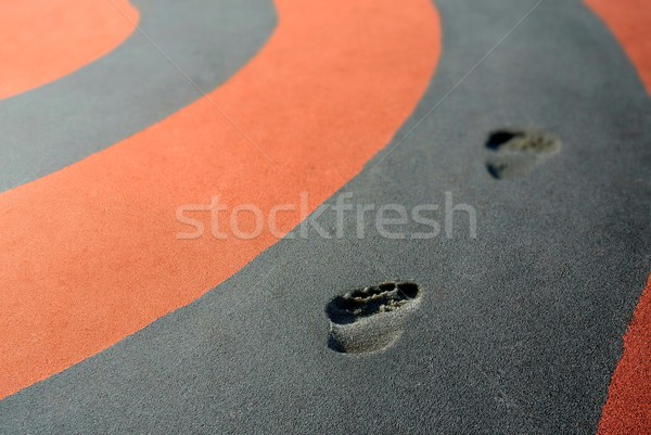 Tracks on the track Stock photo © mobi68