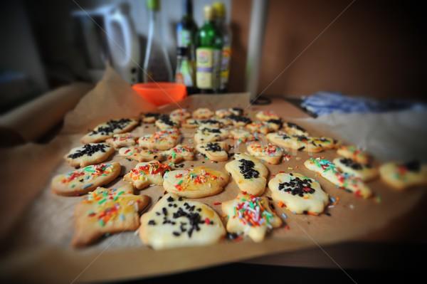 Cookies bandeja completo Foto stock © mobi68
