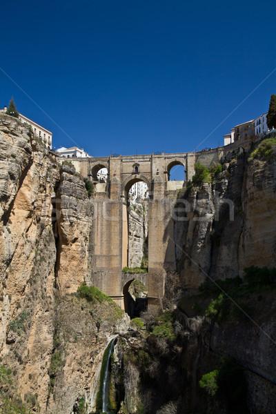 Rondas new bridge Stock photo © MojoJojoFoto