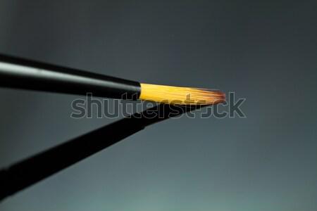 Brosse pinceau design cheveux art Photo stock © MojoJojoFoto