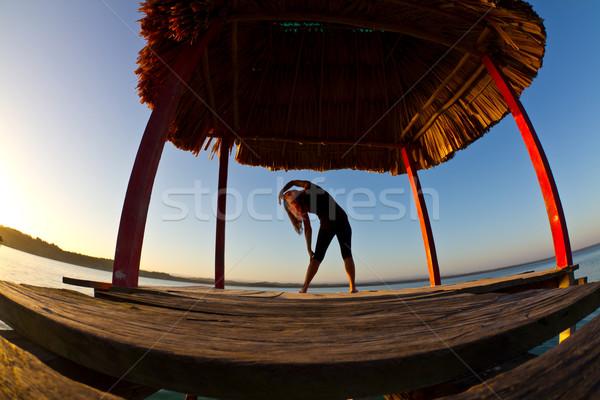 Yoga Stock photo © MojoJojoFoto