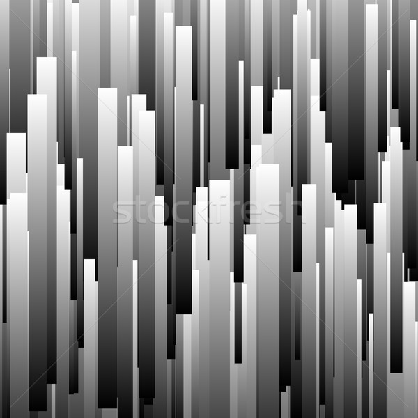 Abstract Background with Glitch Effect vector illustration © Vitaly