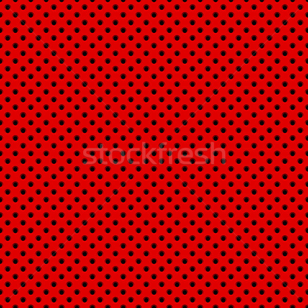 Red Background with Perforated Pattern Stock photo © molaruso