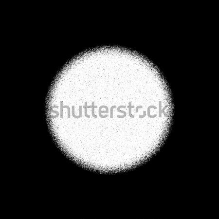 White Grain Circle Badge Stock photo © molaruso