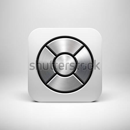 抽象的な ドーナツ ボタン テンプレート リング 幾何学的な ストックフォト © molaruso