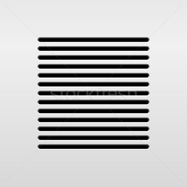 Absztrakt audio hangszóró sablon dinamikus grill Stock fotó © molaruso