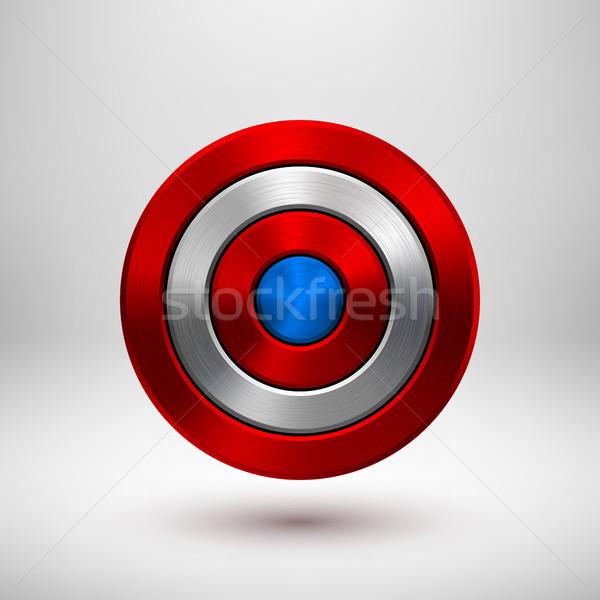 Zi insignă cerc buton sablon Imagine de stoc © molaruso