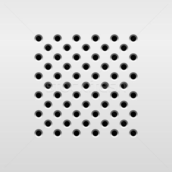 аннотация аудио оратора шаблон динамический гриль Сток-фото © molaruso