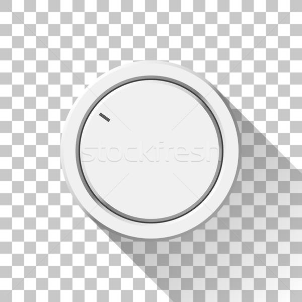 Beyaz teknoloji hacim müzik düğme Stok fotoğraf © molaruso