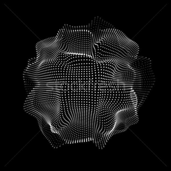 Abstract Space Particles Shape Stock photo © molaruso