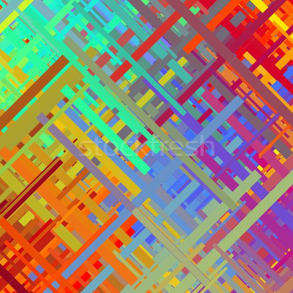 Color Glitch Background Stock photo © molaruso