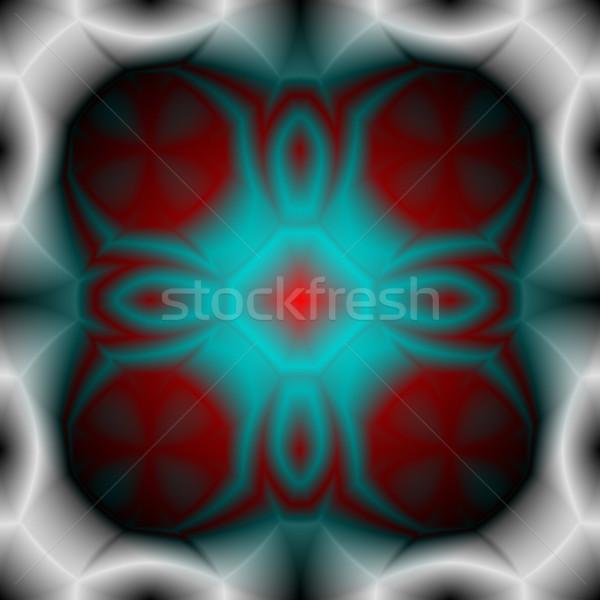 Colorato forma astratta bianco abstract tecnologia Foto d'archivio © molaruso