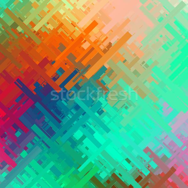 Stok fotoğraf: Renk · etki · soyut · doku · rasgele · diyagonal