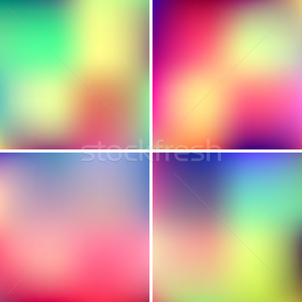 Abstract Blured Color Backgrounds Stock photo © molaruso