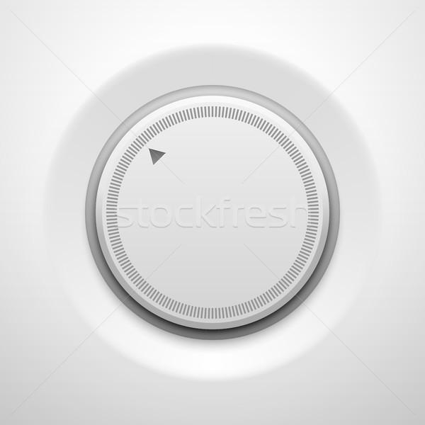Foto stock: Branco · tecnologia · volume · botão · música