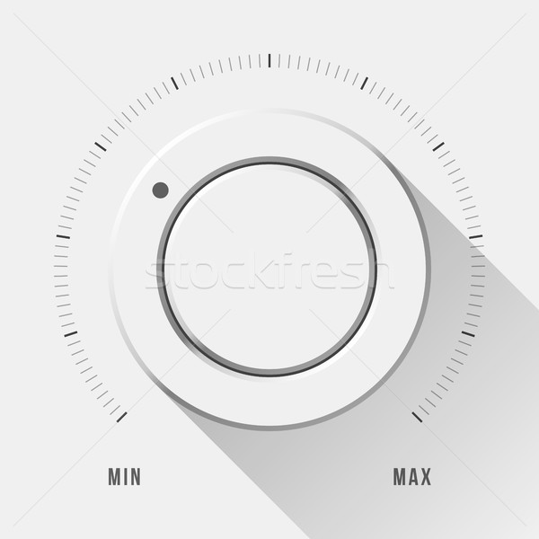 Foto stock: Branco · tecnologia · volume · música · botão