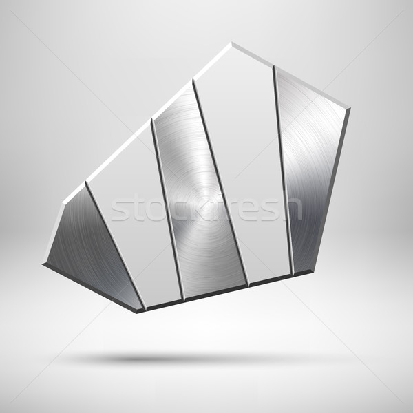 Abstract Geometric Button Template Stock photo © molaruso