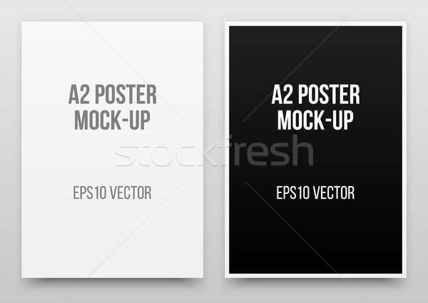A2 Posters Mock-up Stock photo © molaruso