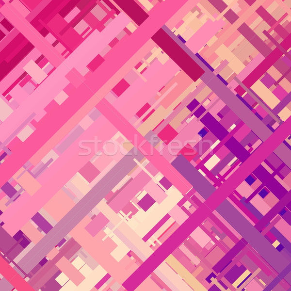 Pastel Color Glitch Background Stock photo © molaruso
