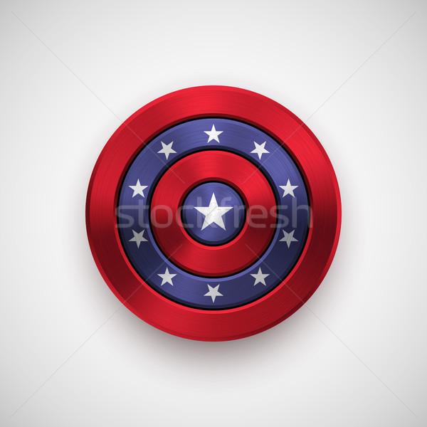 Dia distintivo círculo botão modelo Foto stock © molaruso