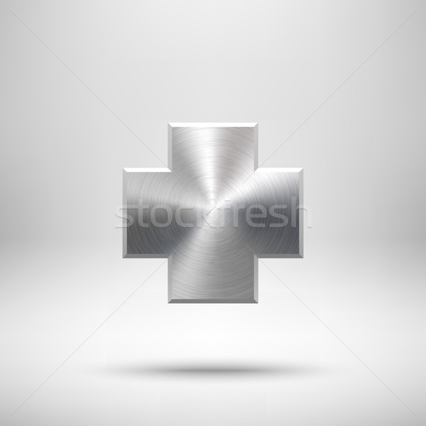 Abstract Cross Button Template Stock photo © molaruso