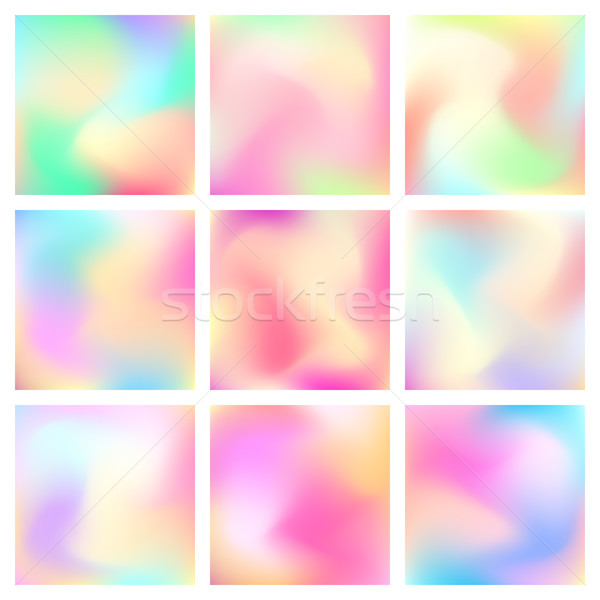 Abstract Blured Color Background Stock photo © molaruso