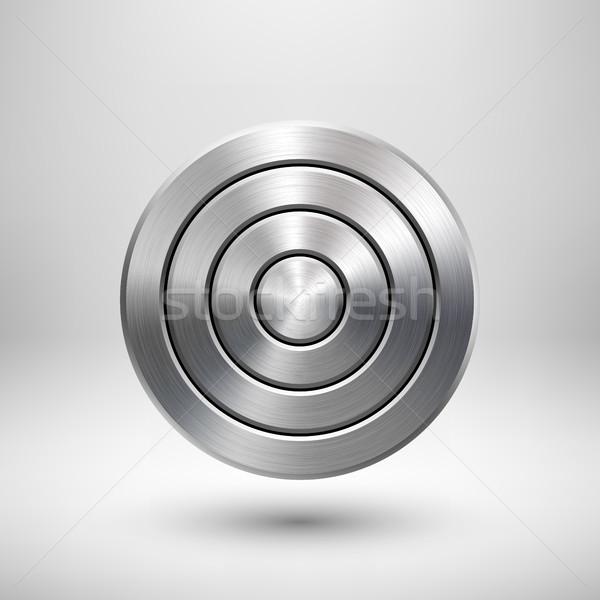 аннотация технологий круга металл Знак геометрический Сток-фото © molaruso