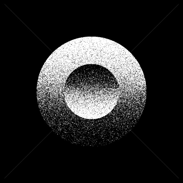 White Abstract Circle Badge Stock photo © molaruso