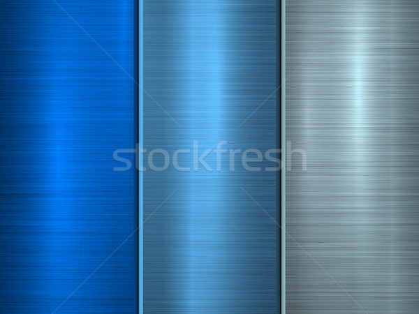 BlueTechnology Metal Background Stock photo © molaruso