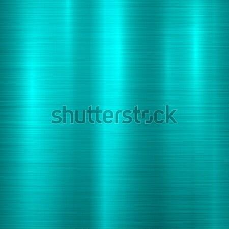 Azul metal tecnología resumen pulido textura Foto stock © molaruso