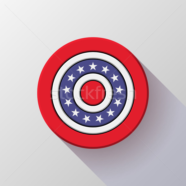 4th of July Independence Day Badge Stock photo © molaruso