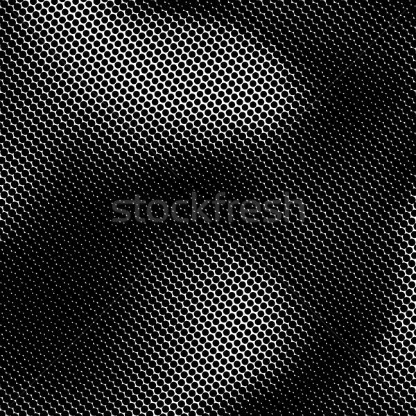 Black and White Halftone Background Stock photo © molaruso
