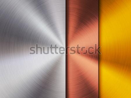 Metal acero bronce oro tecnología Foto stock © molaruso