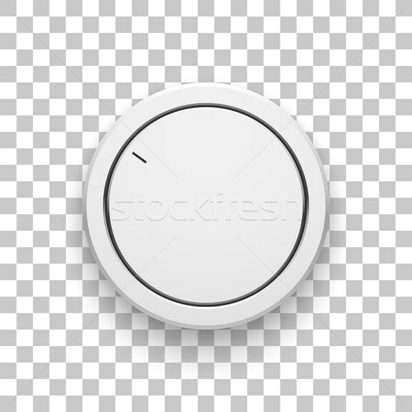 Branco tecnologia música botão volume Foto stock © molaruso