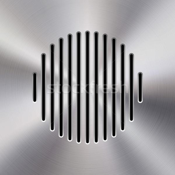 Musica metal audio speaker modello dinamica Foto d'archivio © molaruso
