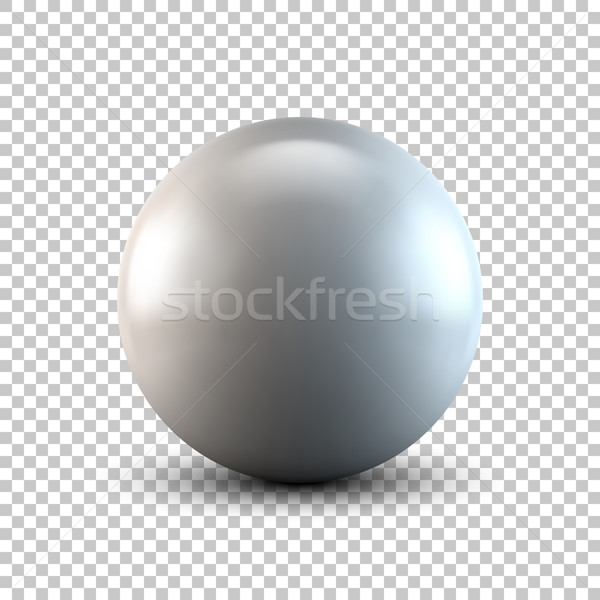 White Abstract Polygonal Shape Stock photo © molaruso
