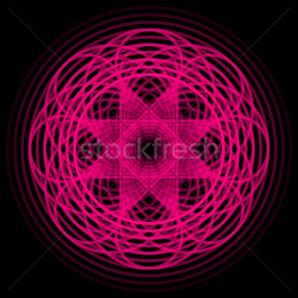 Magenta Abstract Shape Stock photo © molaruso