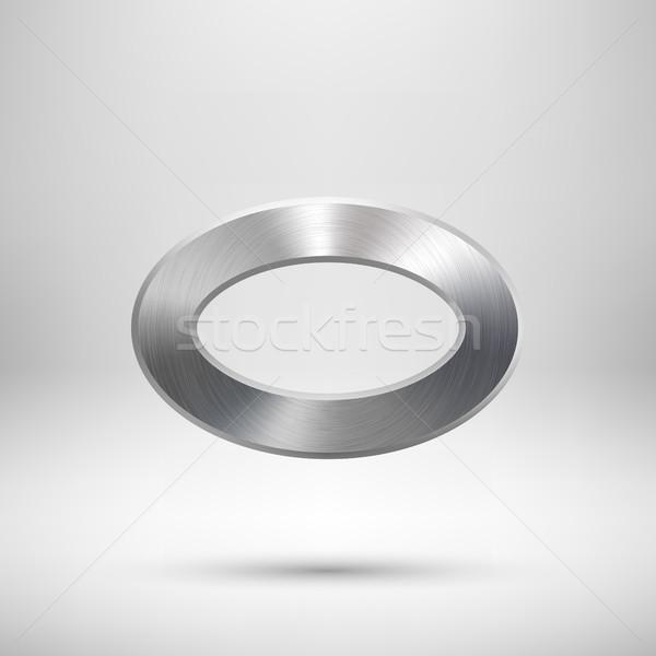 Abstract ciambella pulsante modello tecnologia ovale Foto d'archivio © molaruso
