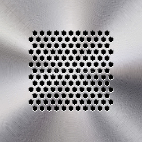 音楽 金属 オーディオ スピーカー テンプレート ダイナミック ストックフォト © molaruso