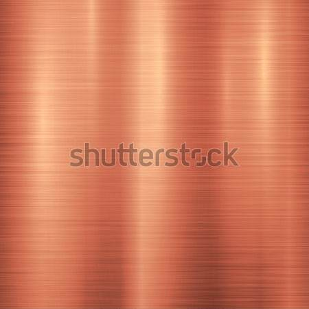 Foto stock: Bronze · metal · tecnologia · polido · textura · do · metal · cromo