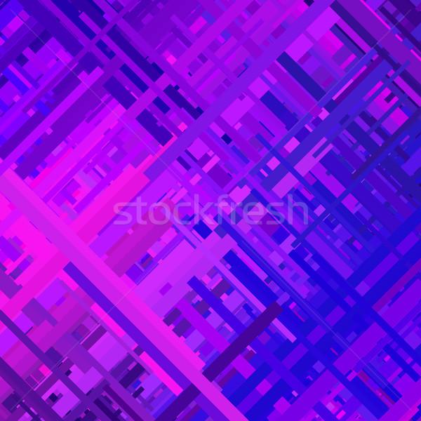 Purple Glitch Background Stock photo © molaruso