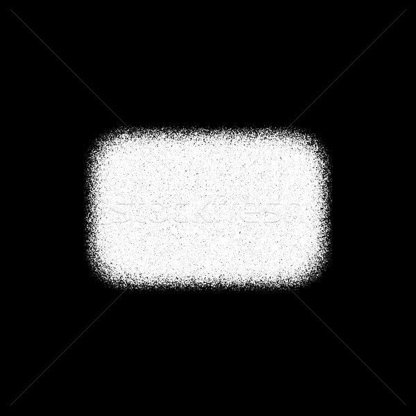 White Abstract Rectangle Badge Stock photo © molaruso