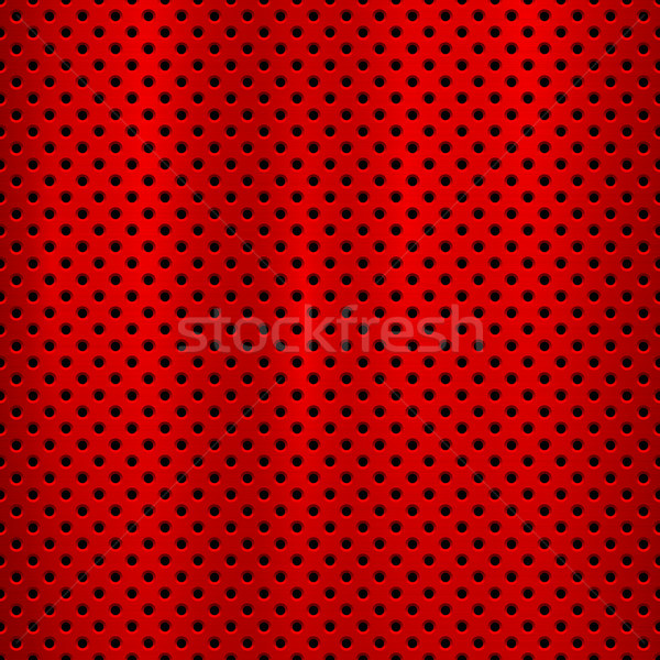Red Metal Technology Background Stock photo © molaruso