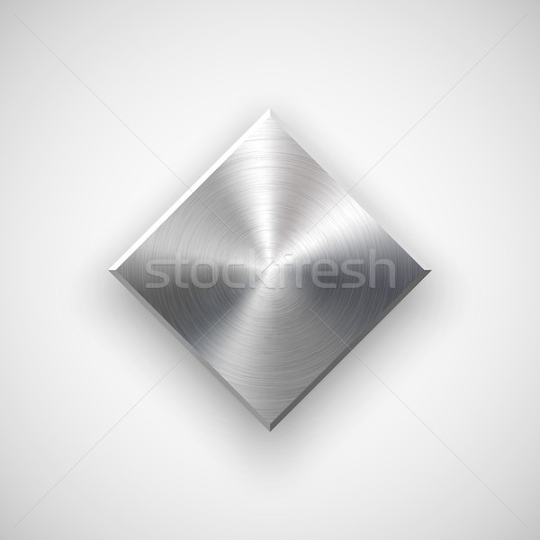 Abstract Rhombic Button Template Stock photo © molaruso